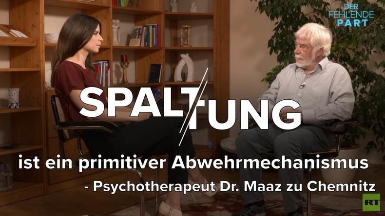 Psychotherapeut Dr. Maaz zu Chemnitz: Spaltung ist ein primitiver Abwehrmechanismus