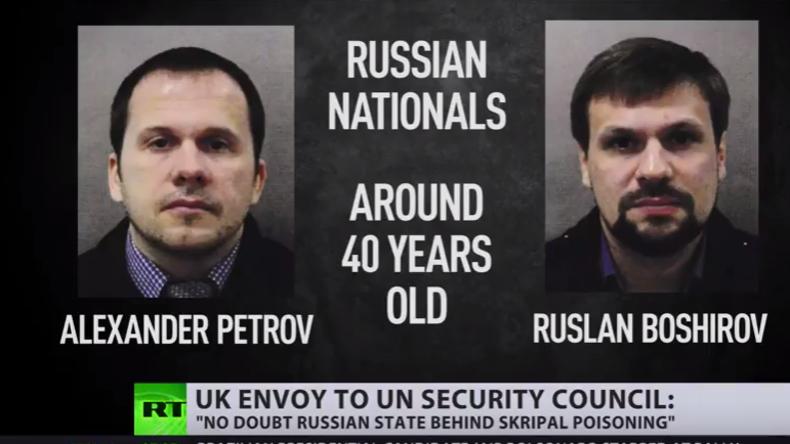 """""""Putins lächelnde Attentäter"""": Bizarrer Wirbel um angebliche Nowitschok-Agenten"""