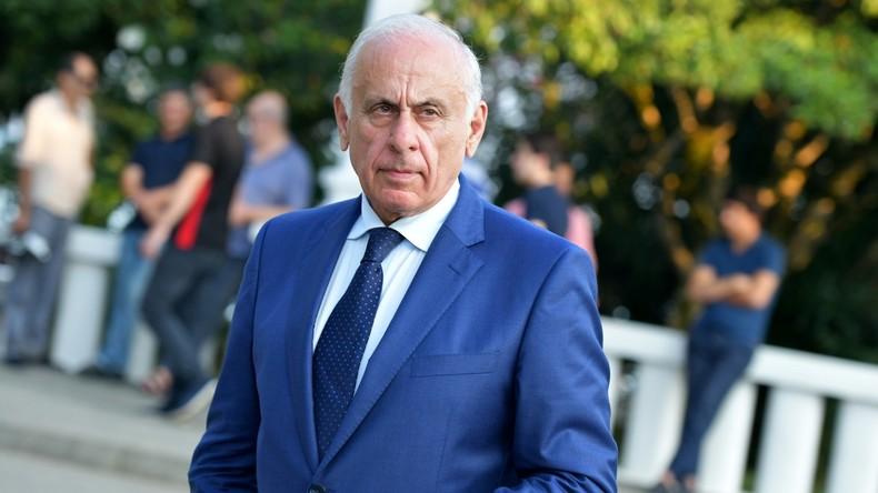 Regierungschef Abchasiens stirbt bei Verkehrsunfall