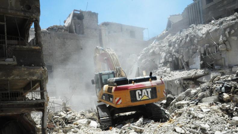 Reportage aus Syrien: Wiederaufbau und Rückkehr von Flüchtlingen (Video)