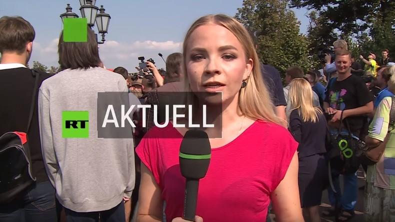 RT Deutsch auf den Straßen Moskaus: Unruhen und Uneinigkeit um die Rentenreform in Russland (Video)