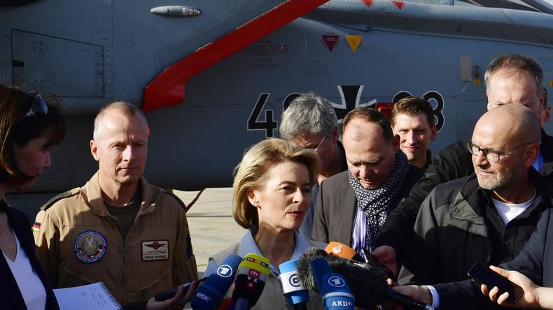 Kontroverse Diskussion um von der Leyens Planspiele für Syrien