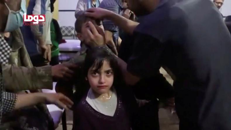 Russisches Verteidigungsministerium: Filmaufnahmen der inszenierten Chemieattacke in Idlib beginnen