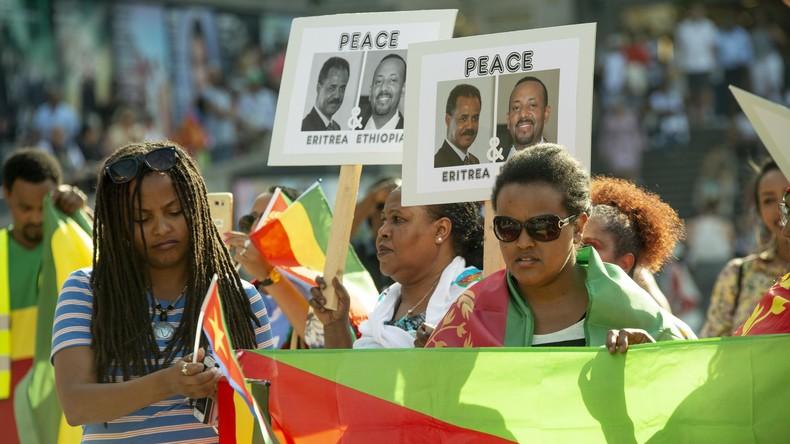 Nach Jahren der Feindschaft: Äthiopien und Eritrea öffnen Grenze