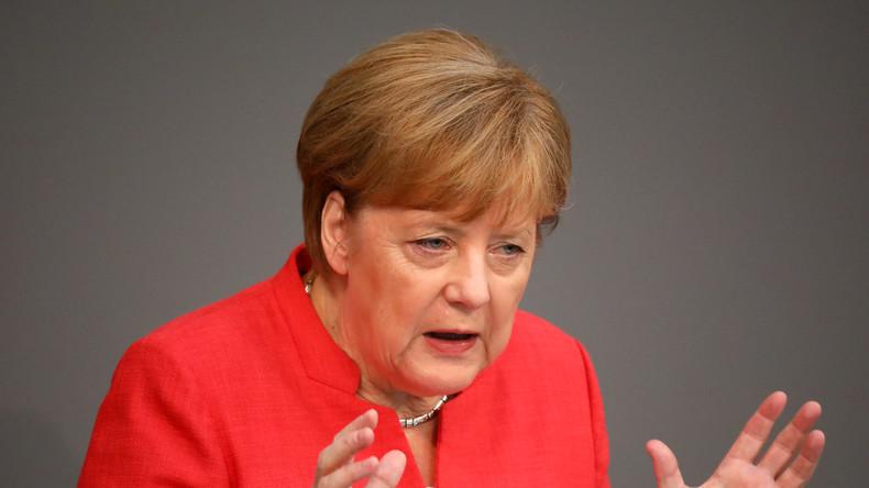 LIVE aus dem Deutschen Bundestag: Merkel stellt sich dem Parlament