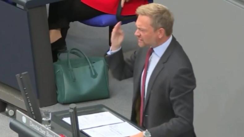 Ausraster im Bundestag: Lindner geigt dem Grünen Hofreiter nach Zwischenruf lauthals die Meinung