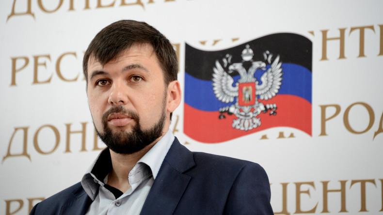 """Denis Puschilin im Gespräch mit RT: """"Die Ukraine hat es verlernt, den Donbass zu verstehen"""""""
