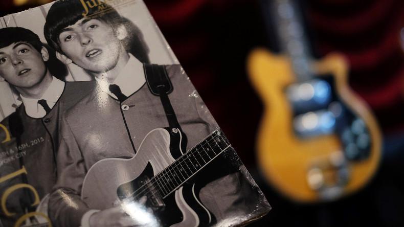 Gitarre von George Harrison wechselt für mehr als 300.000 Euro den Besitzer