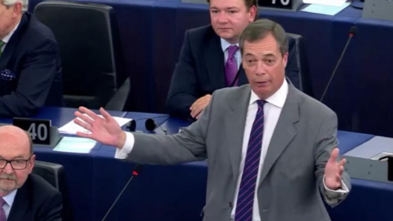 """Nigel Farage zu Viktor Orban: """"Machen Sie es wie wir - Verlassen Sie die EU"""""""
