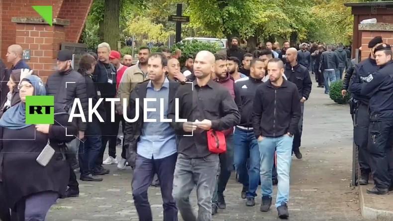 Beerdigung von Clanmitglied in Berlin löst Polizei-Großeinsatz aus