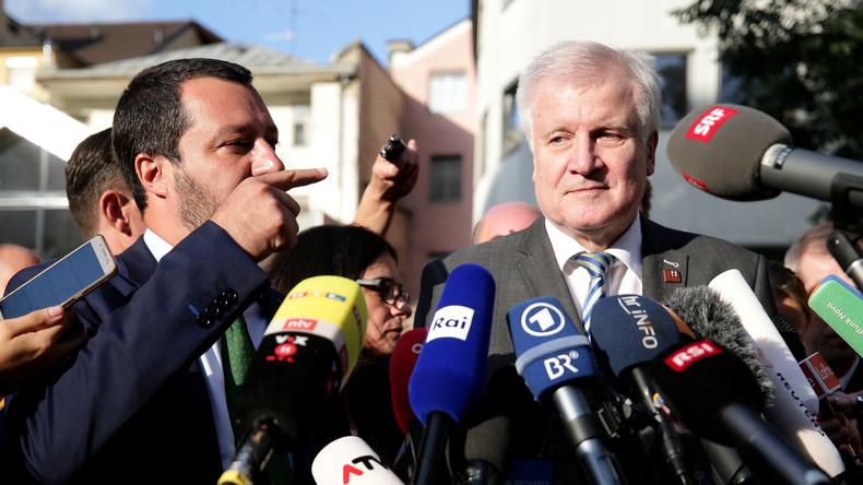Deutschland und Italien vereinbaren Migrantentausch - EU will Ende nationaler Grenzkontrollen