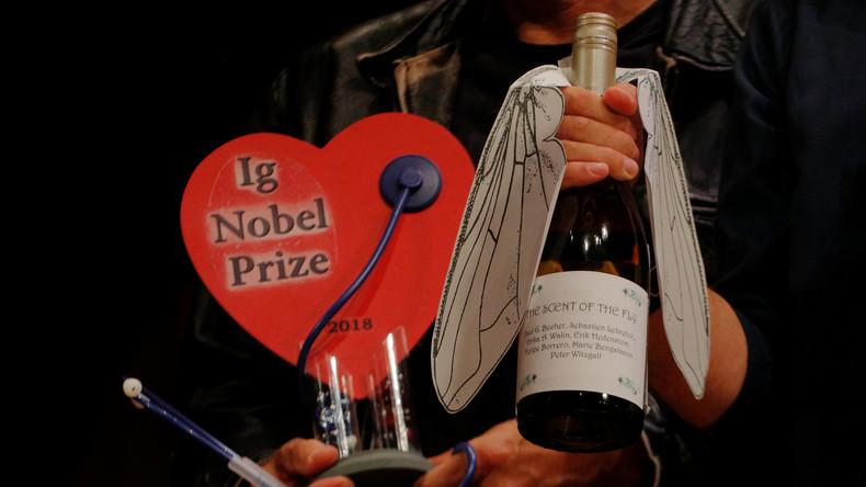 Voodoo gegen den Chef und Spucke zum Putzen: Ig-Nobelpreise in Harvard verliehen