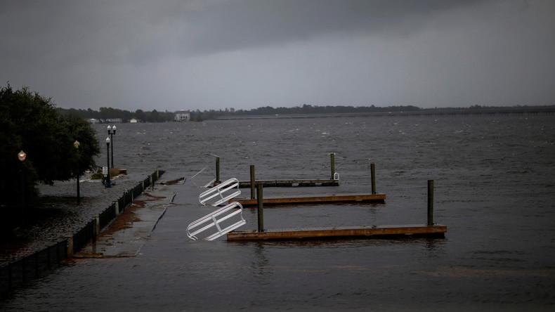 """USA wappnen sich für Hurrikan """"Florence"""": Energieunternehmen nimmt  Atomkraftwerk vom Netz"""