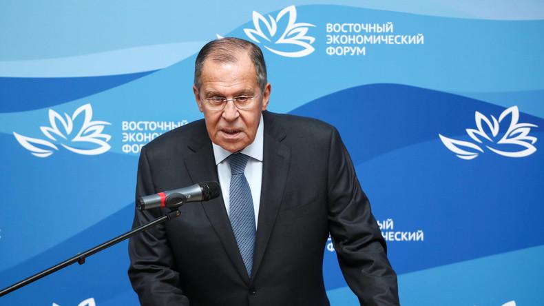 LIVE: Außenminister Lawrow auf dem Deutsch-Russischen Forum in Berlin