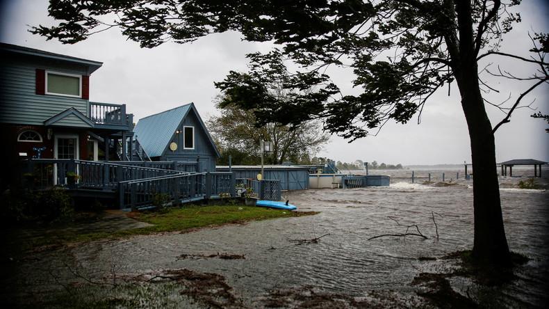 """USA: Hurrikan """"Florence"""" trifft mit Wucht auf Land"""