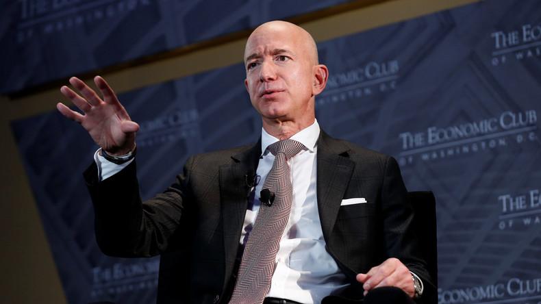 Amazon-Gründer baut Wohltätigkeitsfonds auf – Twitter-Nutzer erinnern an seine eigenen Mitarbeiter