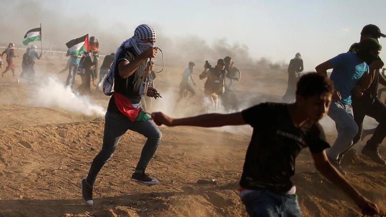 Drei Palästinenser bei Zusammenstößen an Gaza-Grenze getötet