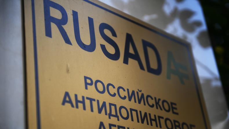 WADA-Ausschuss empfiehlt, Suspendierung der russischen Anti-Doping-Agentur aufzuheben