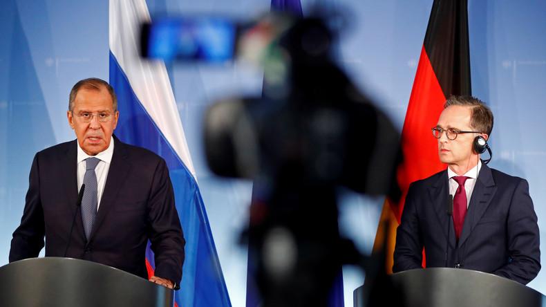 Russlands Außenminister Lawrow in Berlin: Klartext zum Ukraine-Konflikt