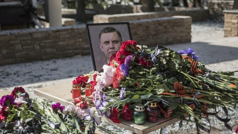 VRD-Interimschef wirft westlichen Geheimdiensten Beihilfe zum Mord an Alexander Sachartschenko vor