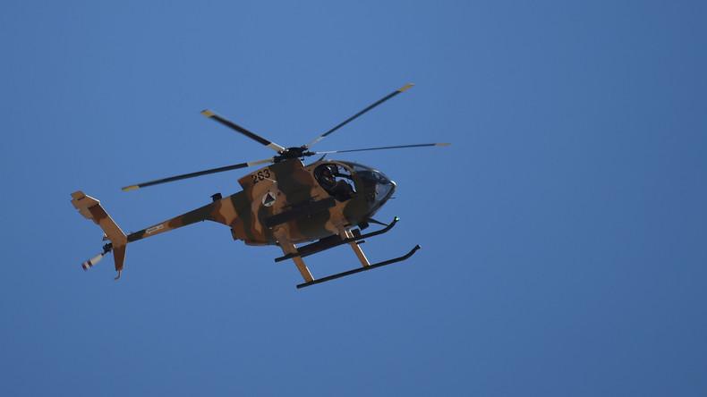 Fünf Menschen sterben bei Absturz von Militärhubschrauber in Afghanistan