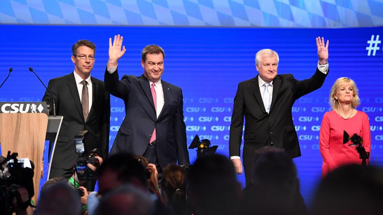 CSU-Parteitag kurz vor Bayern-Wahl: Zuversicht und Geschlossenheit demonstrieren - AfD attackieren