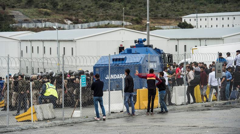 Hunderte Festnahmen bei Streik auf Flughafenbaustelle in Istanbul