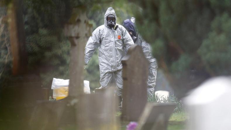Im Müll gelandet: Londons Lüge über die vermeintliche Skripal-Tatwaffe