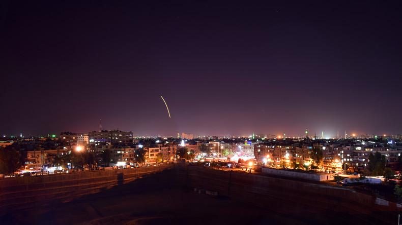 Raketenangriff auf Flughafen von Damaskus