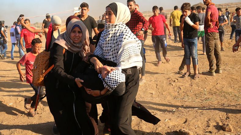 Palästinensischer Teenager stirbt nach Protesten an Gaza-Grenze