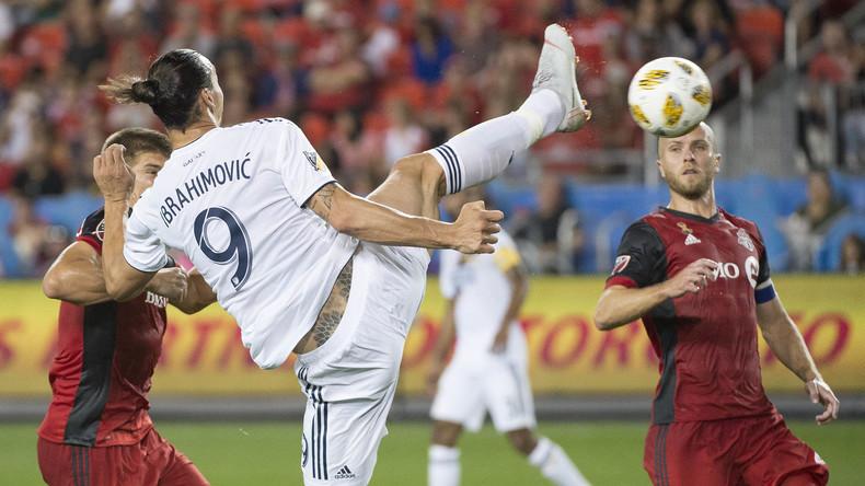 Zlatan Ibrahimovic knackt nach Cristiano Ronaldo und Lionel Messi 500-Tore-Marke