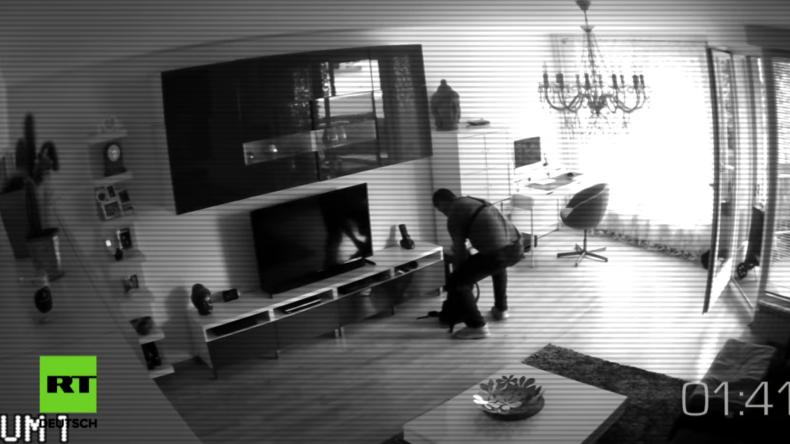 Spezial Video-Reportage: Unterwegs mit einem Einbrecher