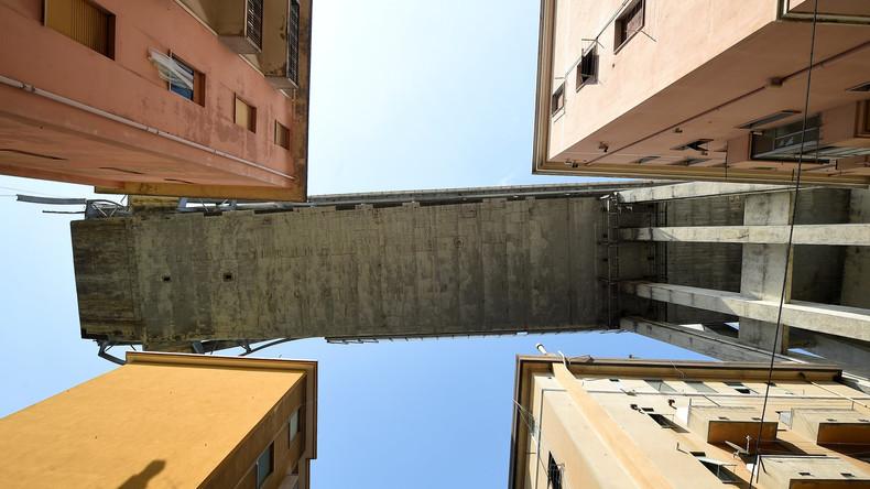 Unglücks-Brücke in Genua: Stabilität der Überreste wird überprüft