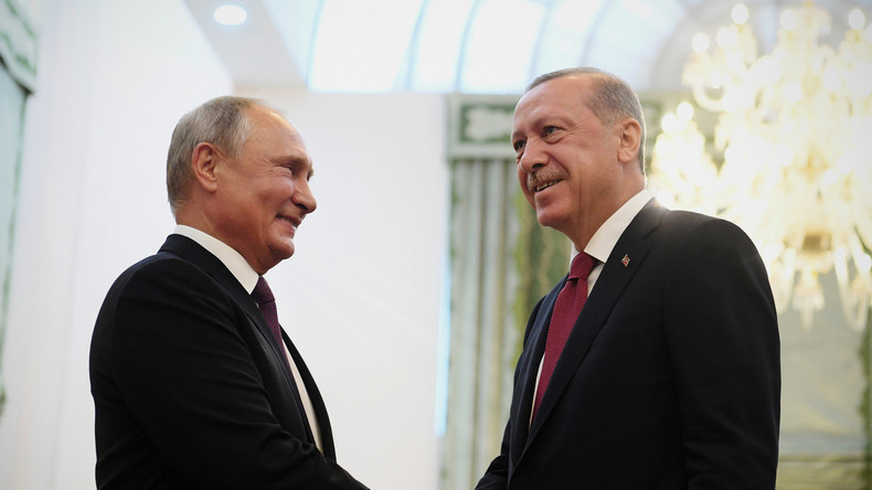 Erdoğan besucht Putin: Gemeinsame Suche nach Lösung für Terrorproblem in Syriens Idlib