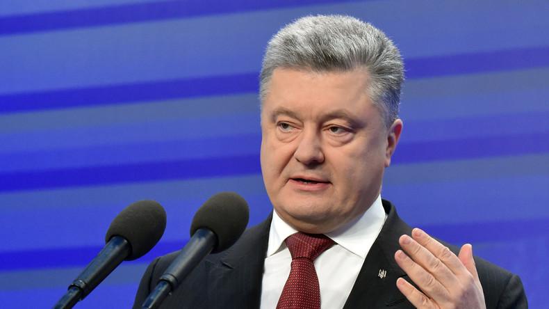 Petro Poroschenko löst Freundschaftsvertrag zwischen Russland und der Ukraine auf