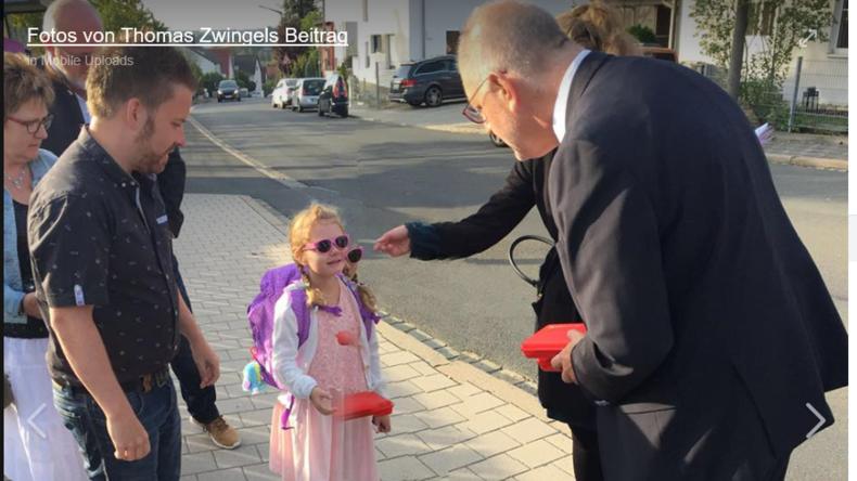 SPD-Ortsverein an Erstklässler: Sagt euren Eltern, sie sollen SPD wählen!