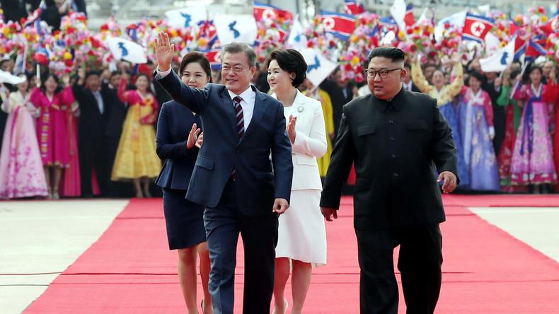 Korea-Gipfel beginnt mit großen Erwartungen - Kim empfängt Moon