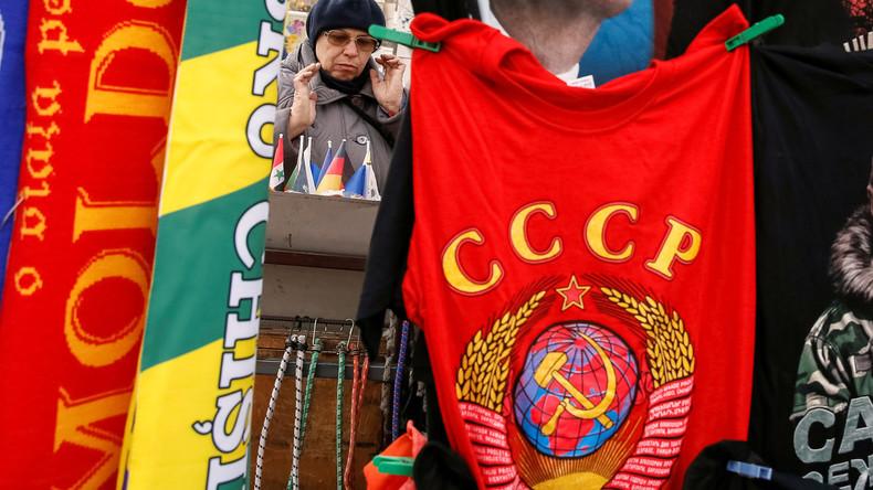 Lästige Vergangenheit: Handelskonzern Walmart nimmt Waren mit UdSSR-Symbolik aus dem Verkauf