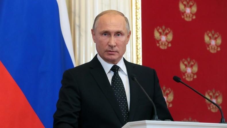"""Wladimir Putin äußert sich zum Absturz der Il-20: """"Verkettung tragischer Zufälle"""""""