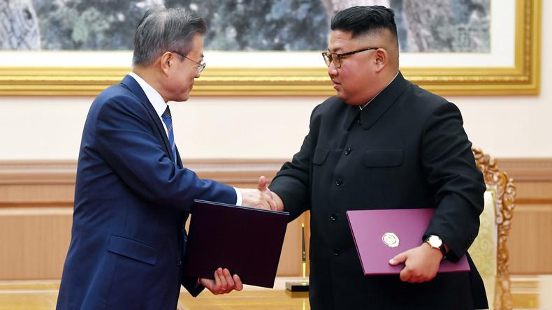 Süd- und Nordkorea wollen Puffer- und Flugverbotszonen einrichten