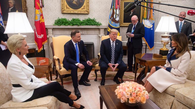 """Polen schlägt """"Fort Trump"""" als neue US-Militärbasis wegen """"russischer Bedrohung"""" vor"""