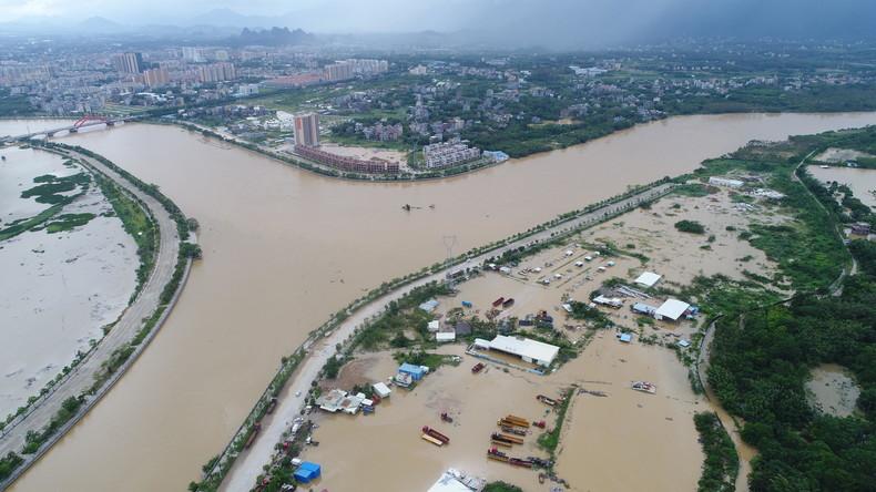 """Mindestens 81 Tote nach Taifun """"Mangkhut"""" - Dutzende noch vermisst"""