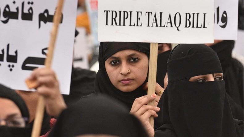 Indien bestraft muslimische Talaq-Scheidung mit bis zu drei Jahren Haft
