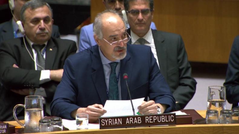 """Syriens UN-Gesandter: """"Ein Blut, ein Feind - Die russischen Toten in Syrien sind unsere Märtyrer"""""""