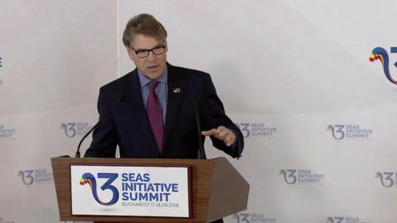 """""""Transatlantische Sicherheit in Gefahr"""" - US-Energieminster wettert gegen russisches Gas für die EU"""