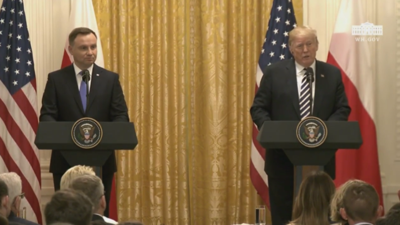 Wegen russischer Bedrohung – Polen bietet USA über zwei Milliarden Dollar für dauerhafte US-Basis