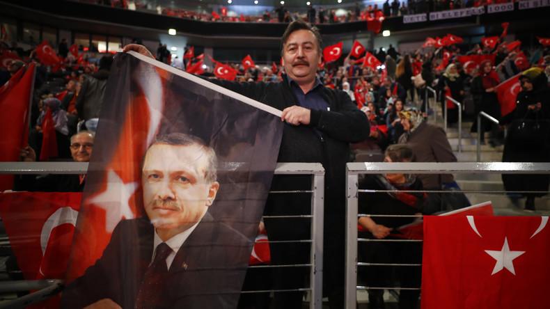 Erdoğans Deutschlandbesuch: Keine große Rede vor Tausenden Deutschtürken