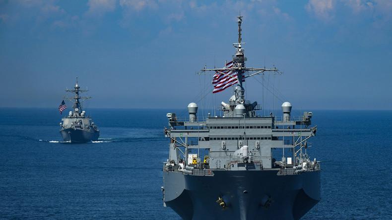 """China kritisiert USA: """"Freiheit der Schifffahrt ist kein Freifahrtschein für Aggressionen"""""""