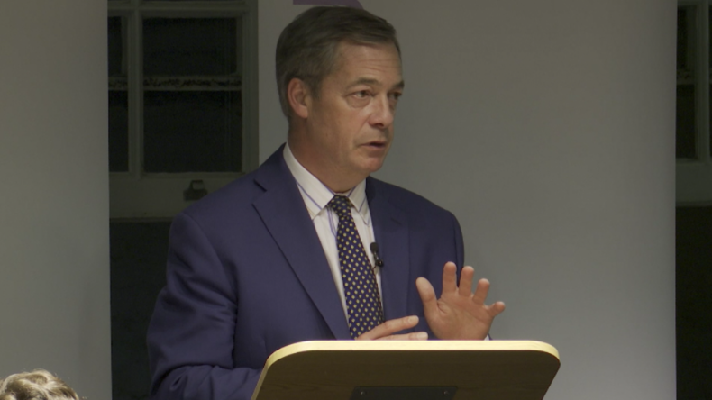 Farage über Internet-Zensur: Meinungsfreiheit, freie Wahlen und Demokratie sind in Gefahr