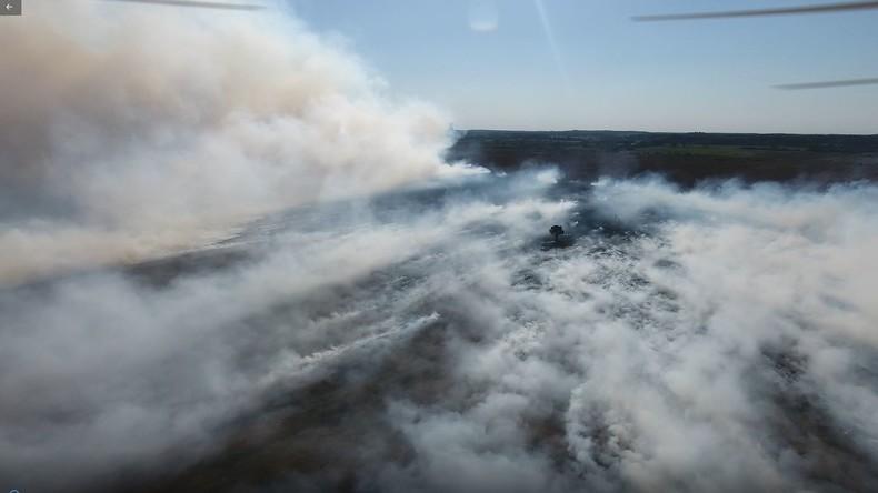 Katastrophenalarm wegen Moorbrand nach Waffentests der Bundeswehr – Justiz ermittelt